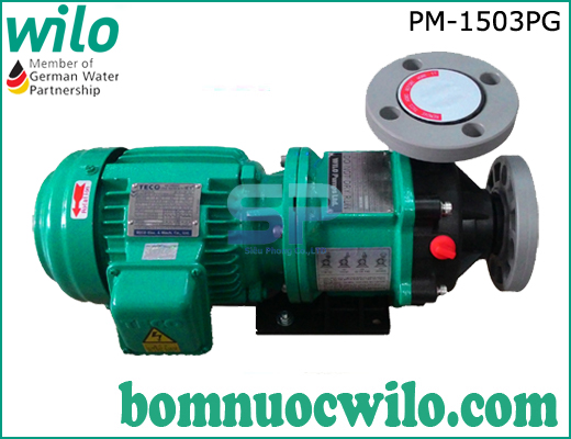 Máy bơm hóa chất dạng từ Wilo PM-1503PG