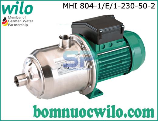 Máy bơm ly tâm trục ngang WILO MHI804-1/E/1-230-50-2
