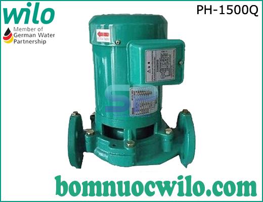 Máy bơm tuần hoàn nước nóng WiLo PH-1500Q